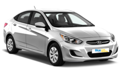 Hyundai Accent Blue - A/T or similar